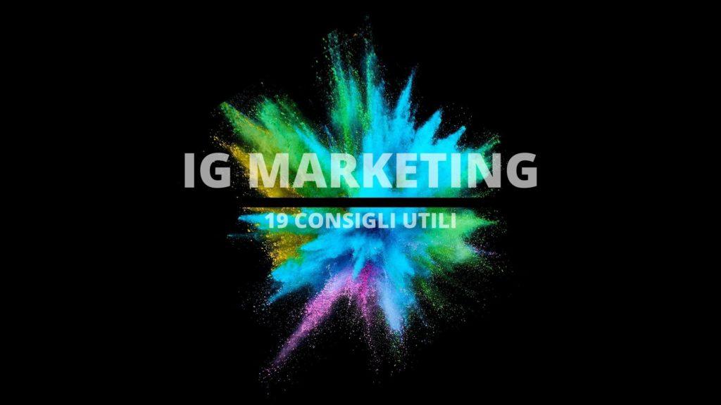 marcosedda.it instagram marketing